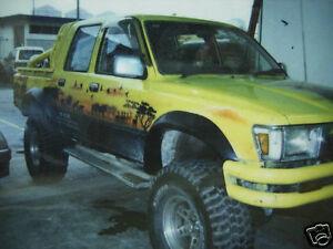 Toyota-Pickup-Surf-Hilux-LN106-107-108-Fender-Flares