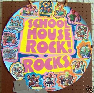 School house rocks 24 rare round promo poster 1996 ebay for House music 1996