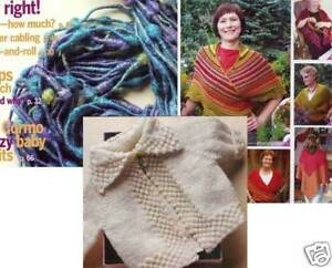 cormo baby jacket hats Spin-off magazine spring 2008: tie-shawls camelid