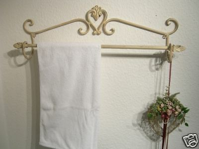 Handtuchhalter Handtuchstange Wandhandtuchhalter Antik Shabby Chic Eisen