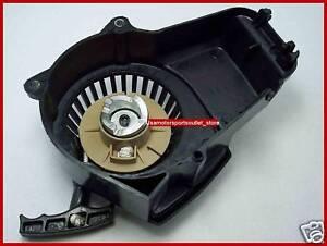 PULLER-PULL-START-w-ALUMINUM-COG-33cc-43cc-47cc-49cc-50cc-POCKET-BIKE-ATV-QUAD