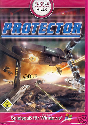 PC Spiel + Protector + 3D Shooter + Flotte + All + Raketen + Planet + Vista