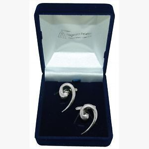 Quality English Pewter Cufflinks Bass Clef + FREE GIFT