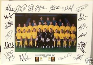 SOCCEROOS 2006 WORLD CUP signed Print