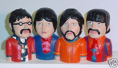 Beatles JPG&R Yellow Submarine Coin Bank FREE SHIP Figures Dolls 1968 1pc Design