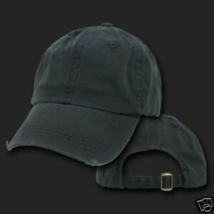 black vintage style polo baseball cap hat caps new