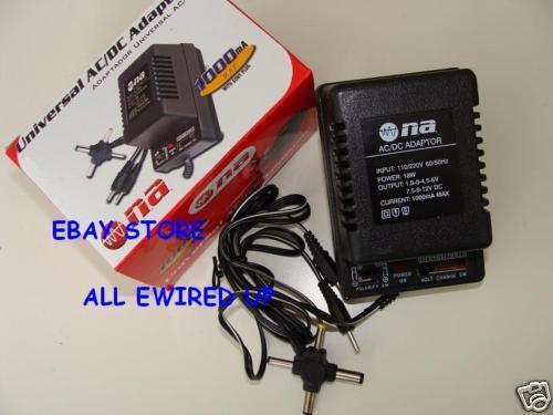 Ac Adapter Power Plug For The Sega Nomad Mk 1479