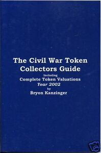 Civil-War-token-Price-Guide-Collectors-Book