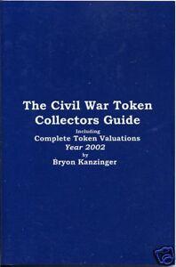 Civil-War-token-Price-Guide-Collectors-Book-by-Bryon-Kanzinger