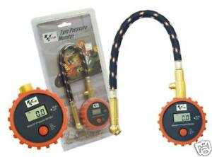 MotoGP MOTORCYCLE DIGITAL TYRE PRESSURE GAUGE MONITOR