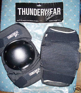 Thunderwear KNEE PADS - Skating - Large - NEW!