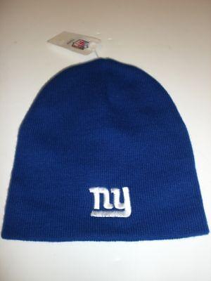 York Giants Blue Stocking Hat Off. Licensed