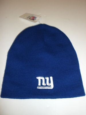 York Giants Blue Stocking Hat Off. Licensed