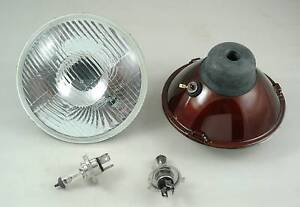 Ford-Mustang-F100-H4-Halogen-Curved-Lens-Headlight-Kit