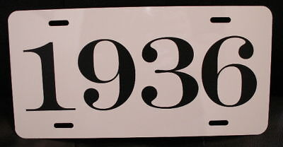 1936 Year License Plate Fits Chevy Ford Chrysler Buick Plymouth Dodge Packard W
