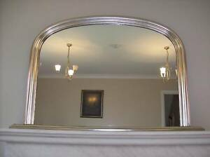 ANTIQUE-FRENCH-SILVER-EXTRA-LARGE-ARCHED-OVERMANTLE-MIRROR-HAND-MADE-IN-BRITAIN