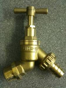 12034 Hose Union Bib Tap Outside Garden Tap BS1010 DOUBLE
