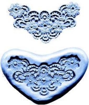 Lace Maker Silicone Mold -flowers- Ck 44-1025 Cake Decorating Fondant Gum Paste