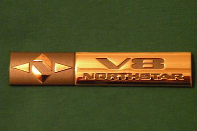 Cadillac Emblem V8 Northstar Emblem 24k Gold