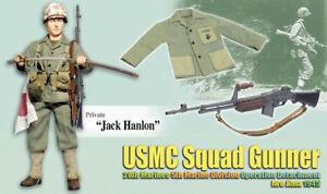 Dragon-WWII-1-6-scale-12-Figure-Soldier-USMC-Marine-Iwo-Jima-Jack-Hanlon-70766