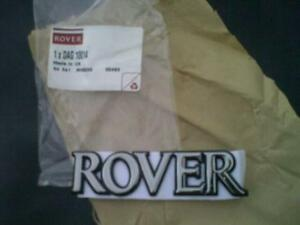 ROVER-BADGE-200-400-600-800-25-45-REAR-BOOT-BADGE-ROVER-NEW-GENUINE-DAG10014