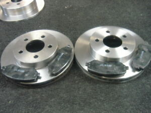 JEEP CHEROKEE 2.5 2.8TD 2.4 3.7 FRONT BRAKE DISC & PADS