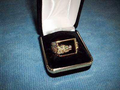 Celtic Dragon Ring -mens Size 13 - Franklin Mint -new