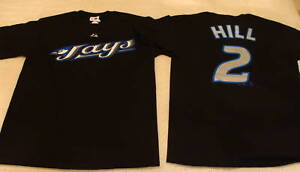 Toronto-Blue-Jays-Aaron-Hill-Name-Number-T-Shirt-XL-NWT