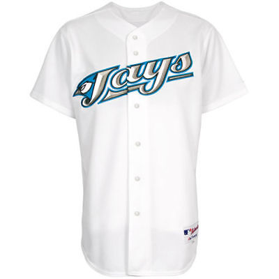 Toronto Blue Jays MLB Baseball Jersey 60 Pro Home Authentic White Retro Majestic