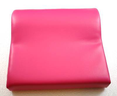 - Deluxe Bright Pink Contour Vinyl Tanning Bed Pillow