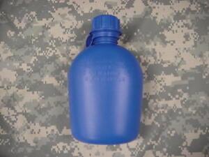 NEW-US-MILITARY-1-QUART-PLASTIC-CANTEEN-BLUE