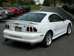 -Ford-Mustang-COBRA-bumper-insert-letters-CHROME-decals-stickers-rear