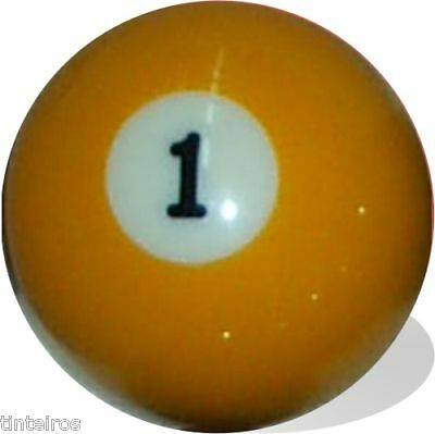 No 1 Pool Ball Single Replacement One Free Ship