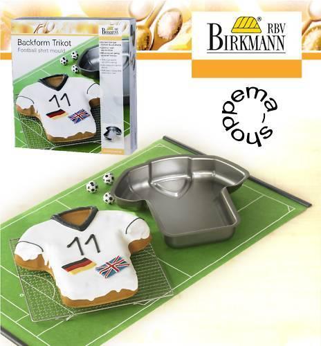 Baking Tin Shape Dish Cake Pan Football Jersey Non-Stick Coating, RBV Birkman