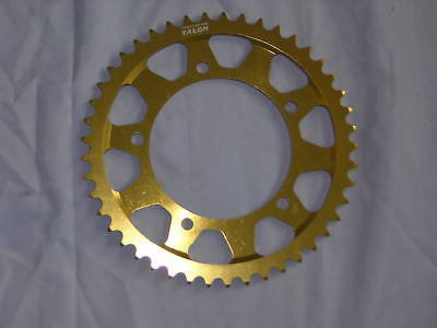 Suzuki GSXR 1000 K1>K8 01-08 43T 530 Rear Alloy Gold Anodised Sprocket. New