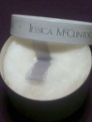 Jessica Mcclintock Perfumed Powder With Puff - 2 Oz/56g -rare