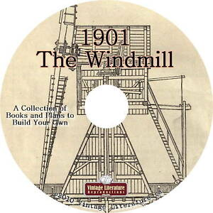 Agricultural-Windmill-Water-Pump-Book-1901-Plans-on-DVD