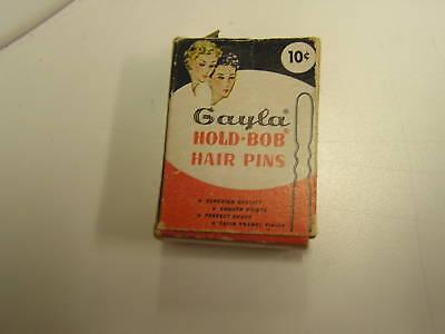 Vintage-Art-Deco-Gayla-Hold-Bob-Hair-Pins-Box