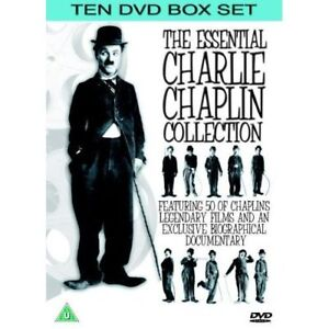 The Essential Charlie Chaplin Collection - 10 DVD SET - BRAND NEW SEALED