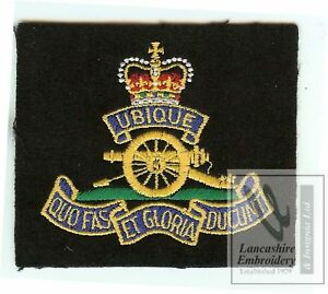 New-Lancashire-Embroidery-Royal-Artillery-Blazer-Badge