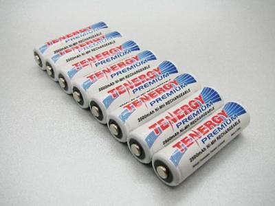 8 Nimh 2500mah Aa Rechargable Batteries / Usa Seller
