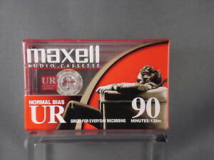 Maxell-Audio-Cassette-Normal-Bias-UR-90-Minutes