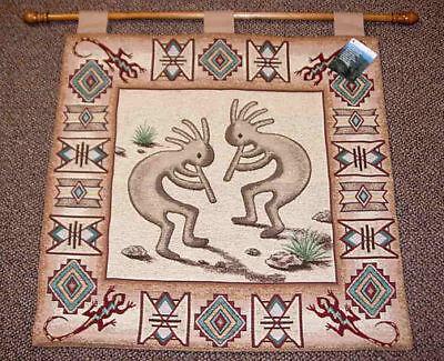 Southwestern Wall Hanging (Kokopelli Gecko Southwestern Tapestry Wall Hanging)