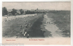 North-Beach-Paignton-Photo-Postcard-c1903