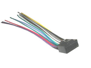 pioneer wiring harness car stereo 16 dpin wireconnector ebay