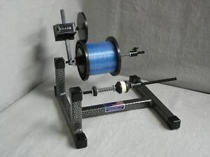 line winder super spooler with line counter ebay