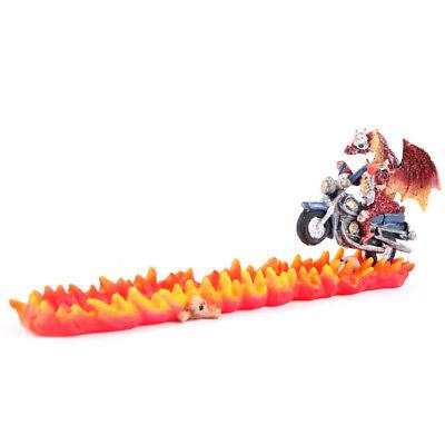 Porte Encens Dragon Sur Moto + Encens Neuf