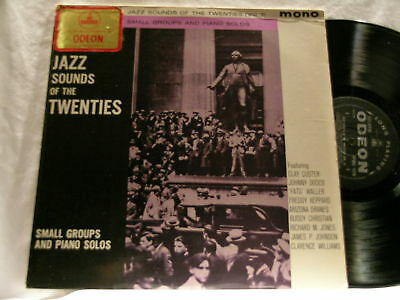 JAZZ SOUNDS Johnny Tot Dodds Fats Waller Kid Ory LP James P Johnson