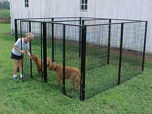 Outdoor-Dog-Kennels-Fencing-Cages-Heavy-Duty-2-Runs