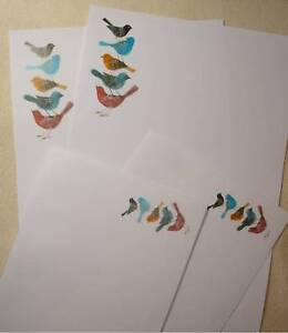 Colourful-Birds-Letter-Writing-Paper-Stationery-Set-with-matching-envelopes